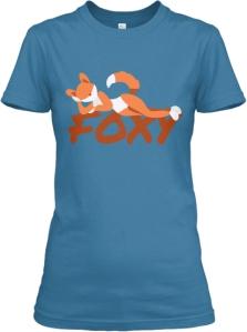 shirtFrontfoxyaqua